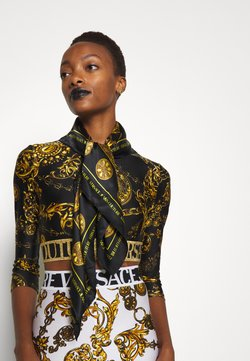 Versace Jeans Couture - REGALIA BAROQUE SCARF - Huivi - nero