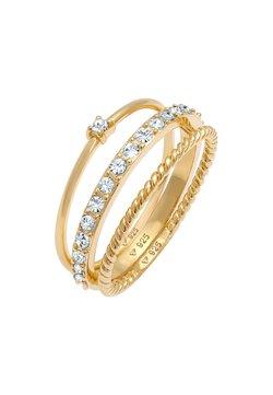 Elli - 3ER SET - Ring - gold