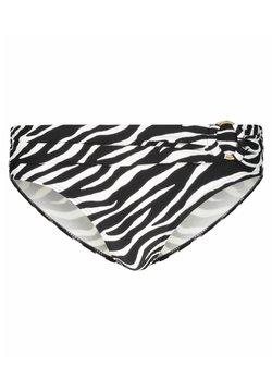 Michael Kors - ZEBRA - Bikini-Hose - schwarz / weiss