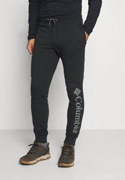 Columbia - LOGO JOGGER - Pantalones deportivos - black/city grey