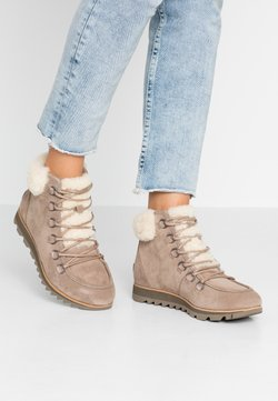 Sorel - HARLOW LACE COZY  - Korte laarzen - ash brown