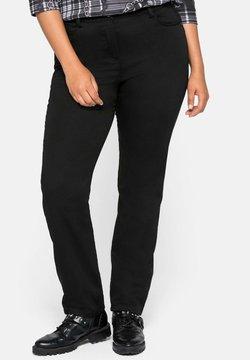 Sheego - Pantalon classique - schwarz