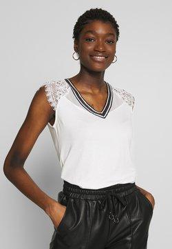 Morgan - T-shirt con stampa - off-white