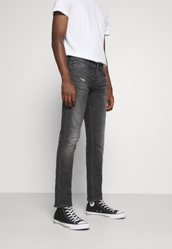Jack & Jones - JJIGLENN JJORIGINAL  - Jeans Slim Fit - grey denim
