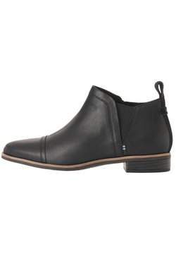 TOMS - REESE - Ankle Boot - black smooth waxy lthr