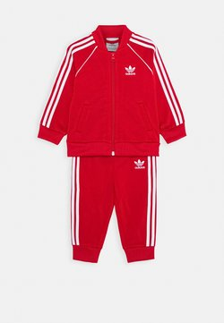 adidas Originals - TRACKSUIT SET - Survêtement - scarlett/white