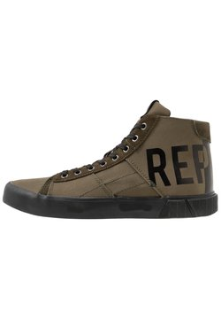 Replay - BASKIN - Sneaker high - green/black