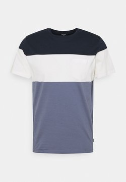 Jack & Jones PREMIUM - JPRBLAREPEAT TEE CREW NECK - T-Shirt print - new navy