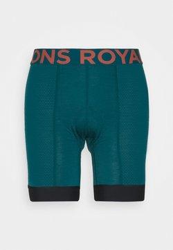 Mons Royale - EPIC BIKE SHORT LINER - Tights - deep teal