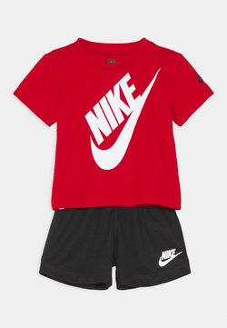 Nike Sportswear - FUTURA SET UNISEX - Survêtement - black/university red