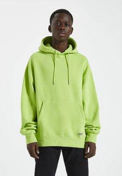 PULL&BEAR - Kapuzenpullover - neon green