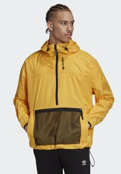 adidas Originals - ADVENTURE ANORAK - Windbreaker - gold
