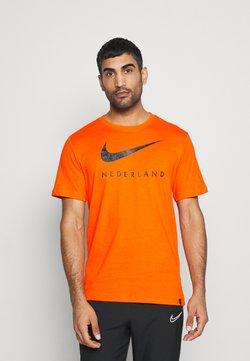 Nike Performance - NIEDERLANDE TEE GROUND - Squadra nazionale - safety orange
