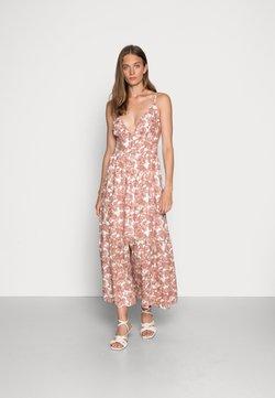 Abercrombie & Fitch - RESORT BUTTON DRESS - Maxiklänning - pink