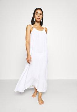 Seafolly - ART HOUSE SOLEIL DOUBLE CLOTH DRESS - Beach accessory - white