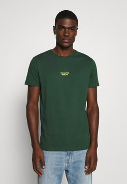 YOURTURN - T-shirt z nadrukiem - dark green