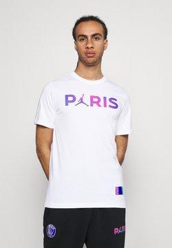 Nike Performance - PARIS ST GERMAIN WORDMARK TEE - Article de supporter - white