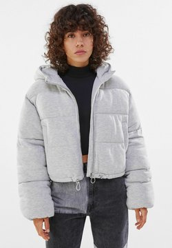 Bershka - Winterjacke - light grey