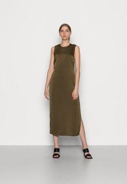 Samsøe Samsøe - CILLA DRESS - Sukienka letnia - dark olive