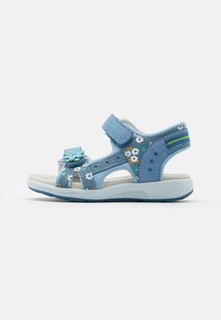 Friboo - LEATHER - Riemensandalette - light blue