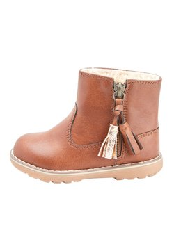 Next - TAN TASSEL  - Lauflernschuh - brown