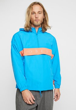 Obey Clothing - TITLE - Windbreaker - sky blue