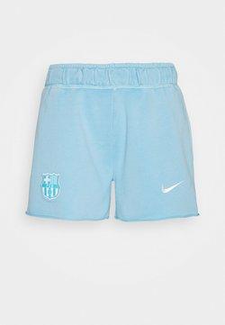 Nike Performance - FC BARCELONA WASH SHORT  - Fanartikel - lagoon pulse/white