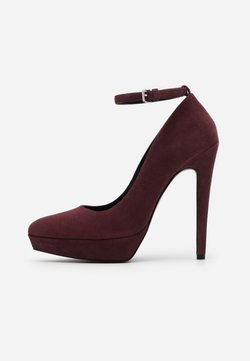 Even&Odd - LEATHER - High Heel Pumps - bordeaux