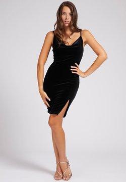 Guess - ZIJSPLIT - Cocktailkleid/festliches Kleid - zwart