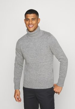 ARKET - TURTLENECK JUMPER - Strickpullover - grey medium