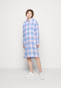 Polo Ralph Lauren - Blusenkleid - white/ blue