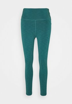 Sweaty Betty - SUPER SCULPT 7/8 YOGA LEGGINGS - Medias - june bug green