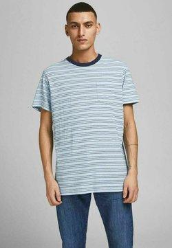 Jack & Jones PREMIUM - REGULAR FIT - T-Shirt print - dream blue