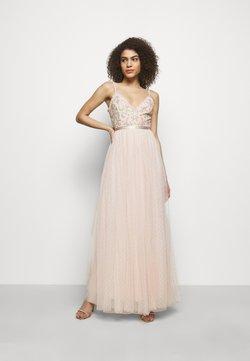 Needle & Thread - EMMA DITSY BODICE CAMI MAXI DRESS - Ballkjole - strawberry icing