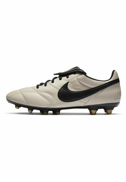 Nike Performance - PREMIER - Tekonurmikengät - oatmeal/metallic vivid gold/black