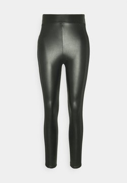 Miss Selfridge - PANELLED - Leggings - Hosen - black