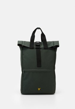 Lyle & Scott - ROLL TOP BACKPACK - Reppu - jade green