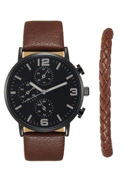 Pier One - SET - Horloge - cognac