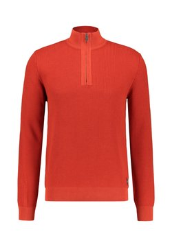 Marc O'Polo - TROYER WITH ZIP - Strickpullover - koralle