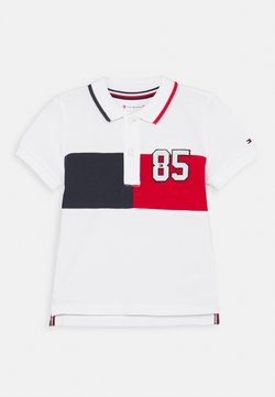 Tommy Hilfiger - BABY COLORBLOCK UNISEX - Poloshirt - white