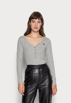 Abercrombie & Fitch - Pitkähihainen paita - grey