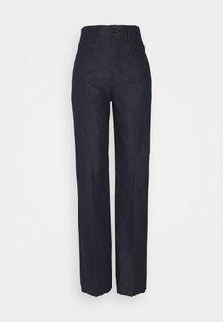 G-Star - DECK ULTRA HIGH WIDE LEG - Flared Jeans - raw denim
