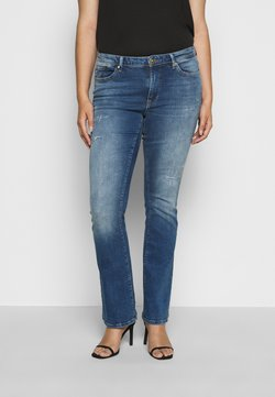 ONLY Carmakoma - CARBAROLL LIFE - Jeans Bootcut - medium blue denim