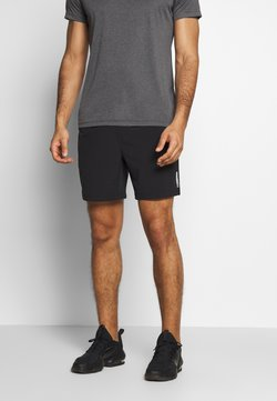 Jack & Jones Performance - JCOZWOVEN - Träningsshorts - black