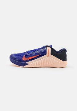 Nike Performance - METCON 6 - Kuntoilukengät - concord/team orange/crimson tint/lime glow/blackened blue/crimson bliss