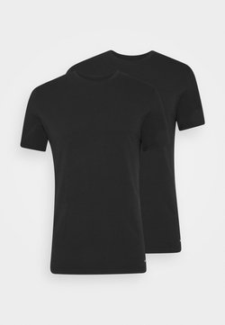 Nike Underwear - CREW NECK 2 PACK - Camiseta interior - black