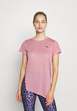 Puma - STUDIO TEE - Camiseta estampada - foxglove