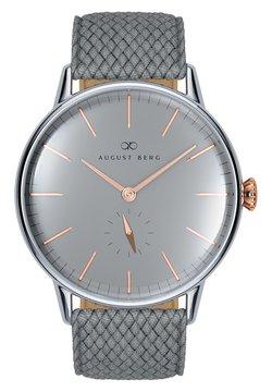 August Berg - NORDIC GRANITE - Uhr - cool grey