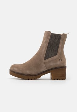 Tamaris - BOOTS - Plateaustiefelette - taupe