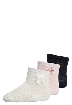 Ewers - 3 PACK - Calcetines - white